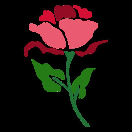 Red Rose Stem Icon