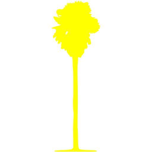 Yellow Tree Icon