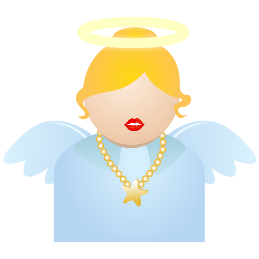 Angel Icon Christmas People Iconset Dapino