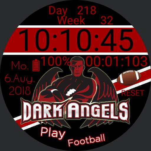 Dark Angels Flag For G Watch R