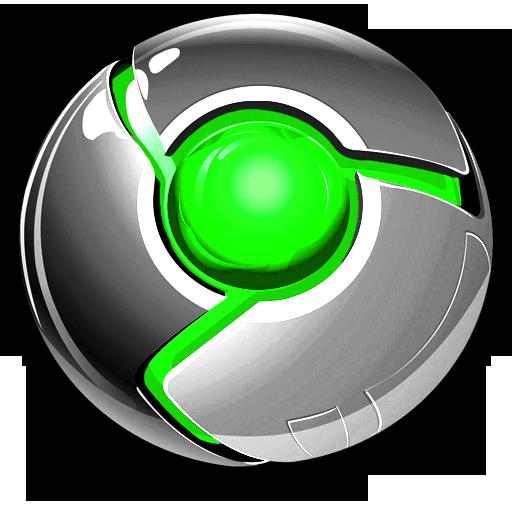 Black Chrome Icon Images