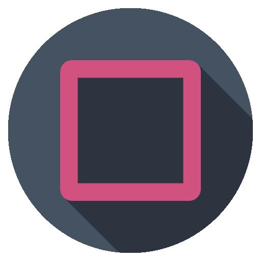 Playstation Square Dark Icon Playstation Flat Iconset Daniele