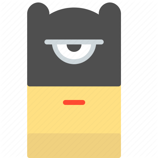 Batman, Cartoon, Character, Dark, Knight, Minion, Superhero Icon