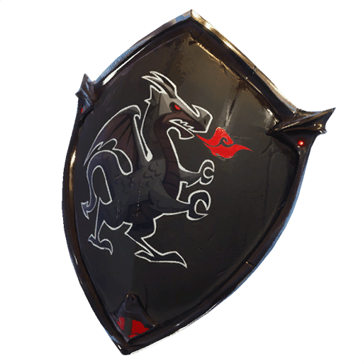 Black Shield Back Bling Backpacks