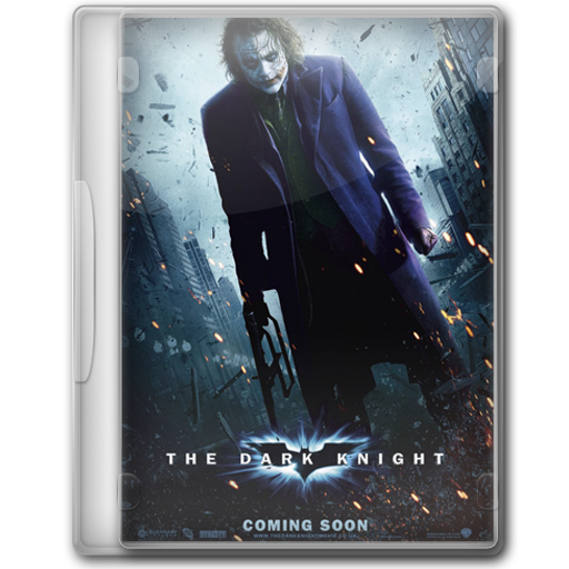 The Dark Knight Icon Batman Movie Dvd Iconset Manueek