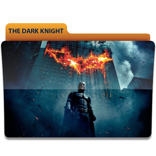 The Dark Knight Movie Folder Icon