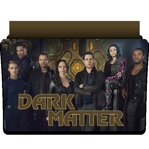 Dark Matter Folder Icons