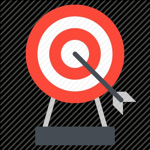 Archery, Arrow, Dart, Game, Sport Icon