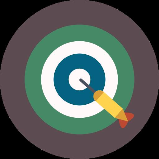 Game, Target, Dart Icon