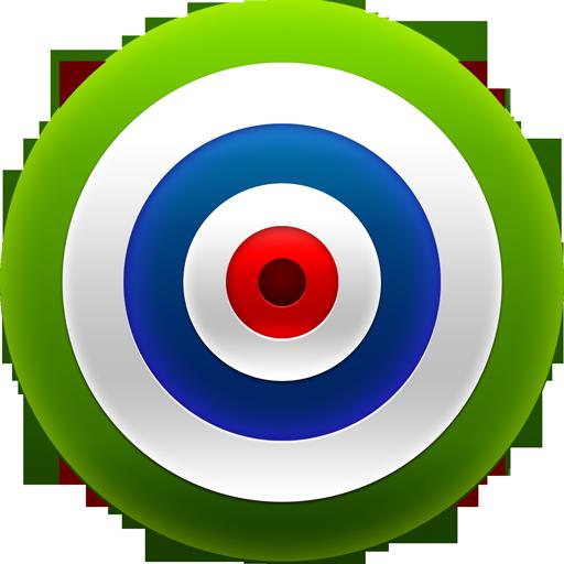 Target Dart Green Icon