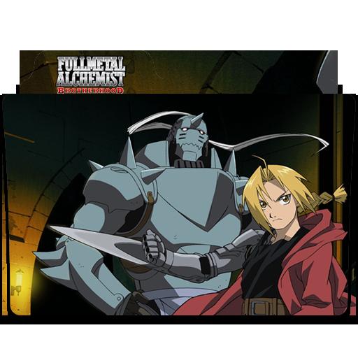 Fullmetal Alchemist Brotherhood Folder Icon