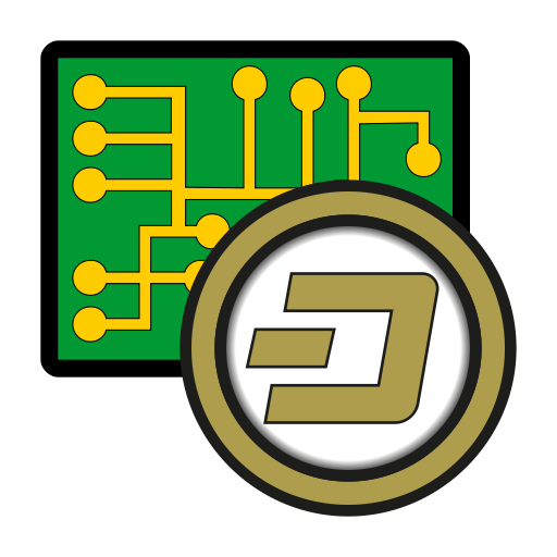 Coin, Cryptocurrency, Currency, Dash, Digital, Exchange, Wallet Icon