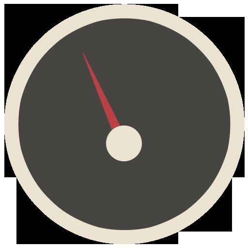 Dashboard Icon Flat Retro Modern Iconset Grafikartes