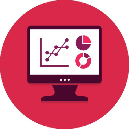 Data Analytics Flat Icon