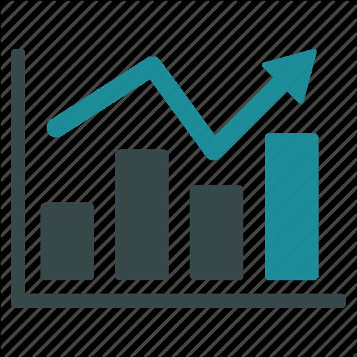 Arrow, Business, Chart, Data, Graph, Report, Stock Market Icon