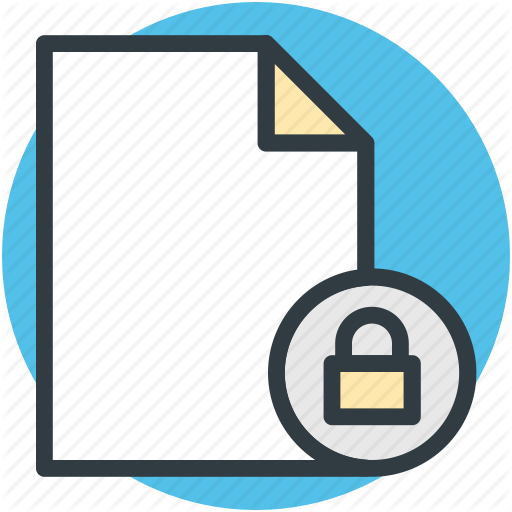 Confidential, Data Encryption, Data Security, Important