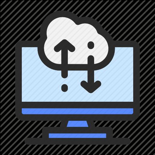 Cloud, Computer, Computing, Data, Download, Management, Upload Icon