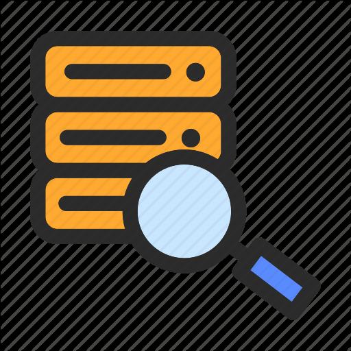 Computing, Data, Database, Management, Searching, Storage Icon