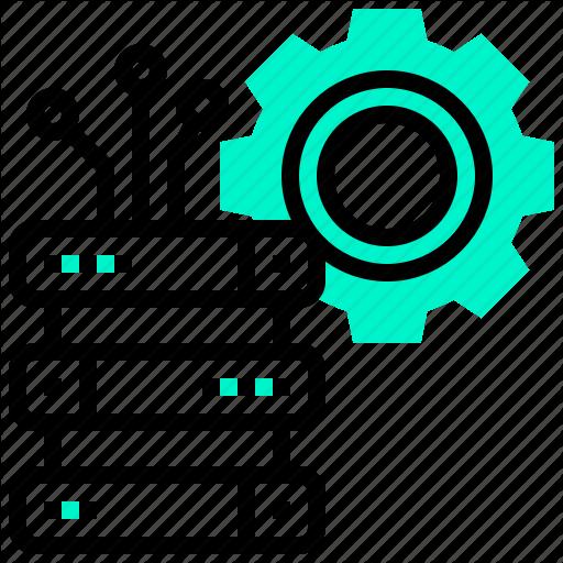 Data, Database, Management, Resource, System Icon