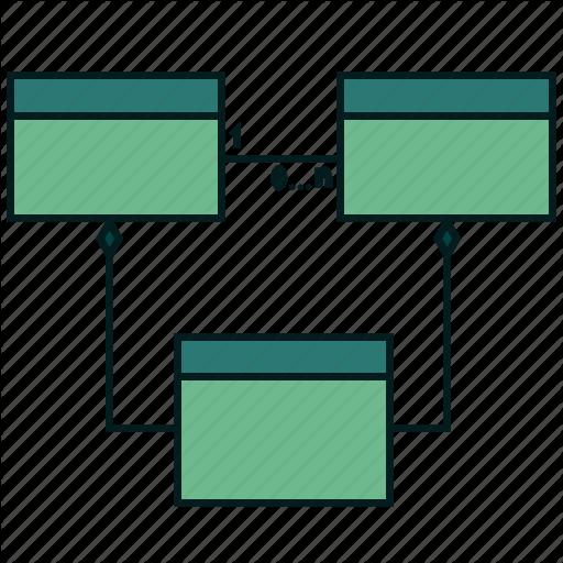 Class, Diagram, Models, Uml Icon