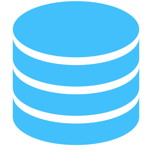 Database Icon Flat Images
