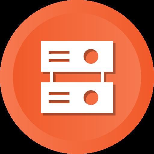 Data, Database, Hosting, Storage, Save, Server Icon Free Of Ios