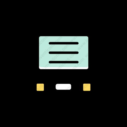 Download Data,server Icon Inventicons