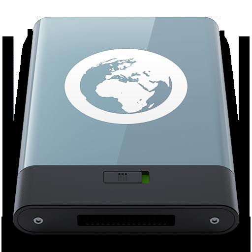 Graphite Server W Icon Hyper Realistic Hd Iconset