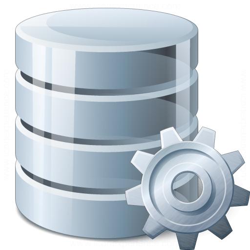 Iconexperience V Collection Data Gear Icon