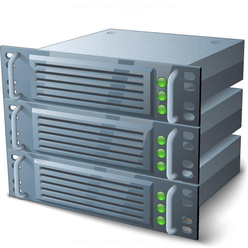 Iconexperience V Collection Rack Servers Icon