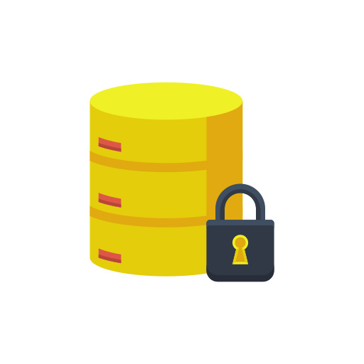 Encrypted Database Icon Free Download