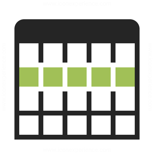 Table Selection Row Icon Iconexperience