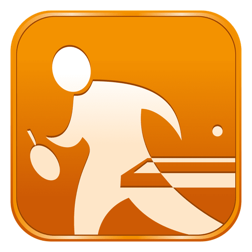 Table Tennis Square Icon