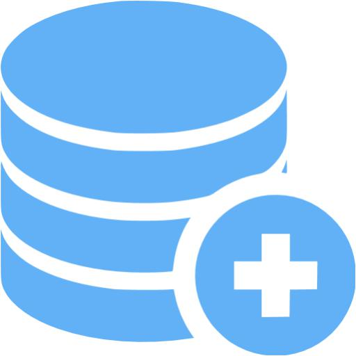 Tropical Blue Add Database Icon