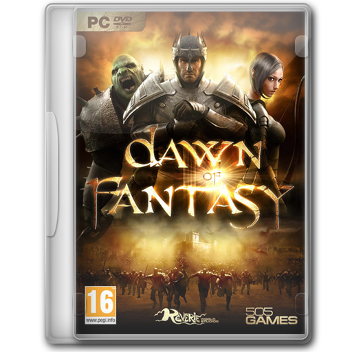 Dawn Of Fantasy Icon Game Cover Iconset Jeno Cyber