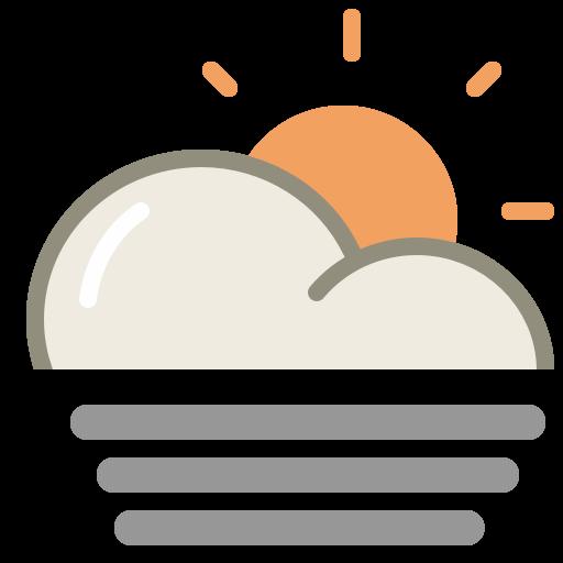 Fog Day Icon Lovely Weather Part Iconset Custom Icon Design