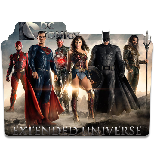 Dc Comics Extended Universe Folder Icon