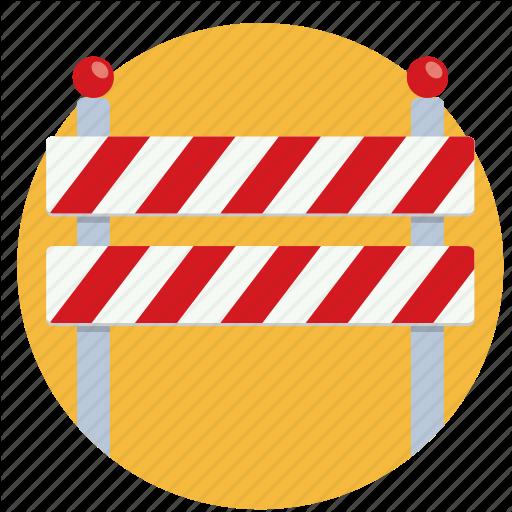 Block, Dead End, No Entry, Road Block, Stop Icon