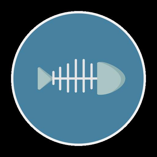 Bone, Fish Icon
