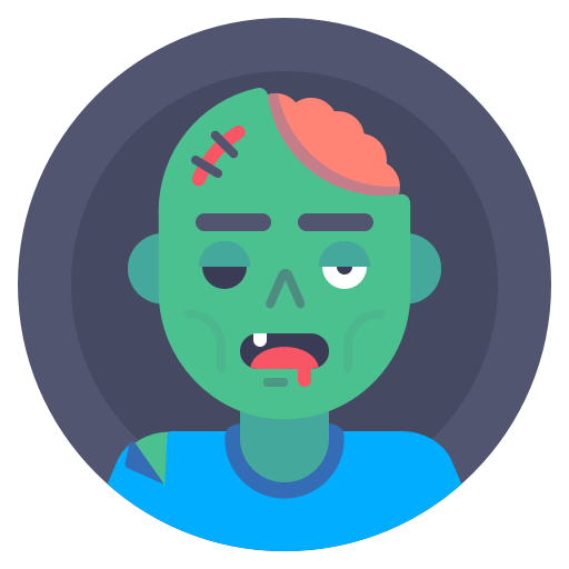 Avatar, Dead, Monster, Zombie Icon