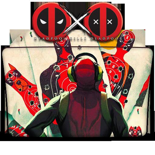 Deadpool Kills Deadpool Folder Icon