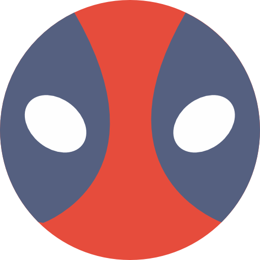 Shapes, Emoticon, Deadpool, Superheroes, Comic, Interface