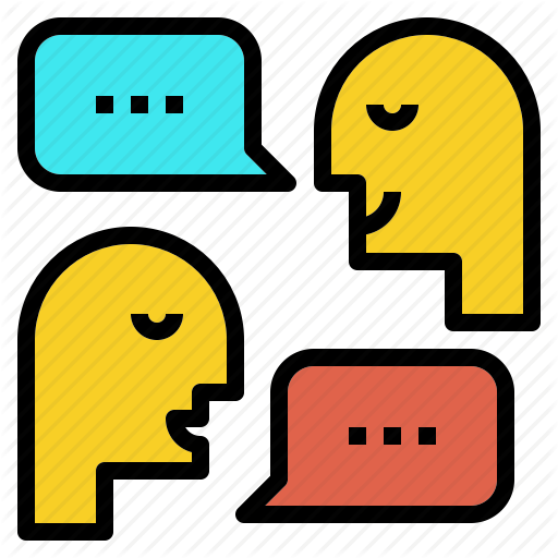Debate, Discussion, Meeting, Speech, Talk Icon