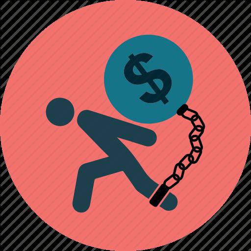 Businesstax, Debt, Money, Payment, Problem, Stress Icon