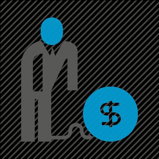 Debt, Finance, Money, Risk Icon