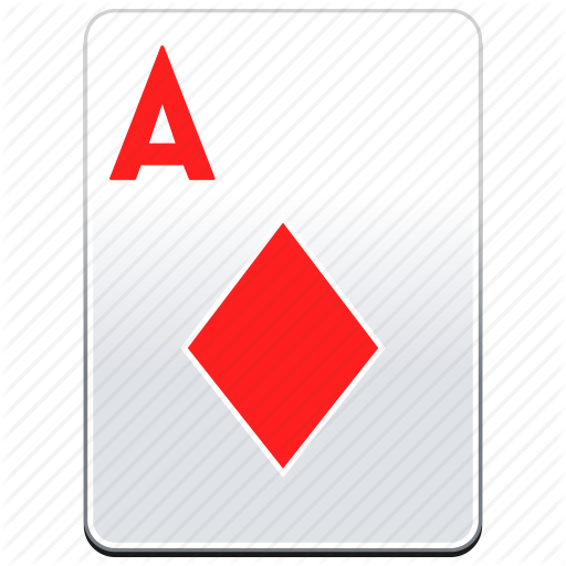 A, Ace, Aces, Card, Casino, Deck, Diamonds, Poker, Red Icon