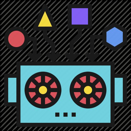 Data, Deep, Learning, Modeling, Robot, Robotics Icon