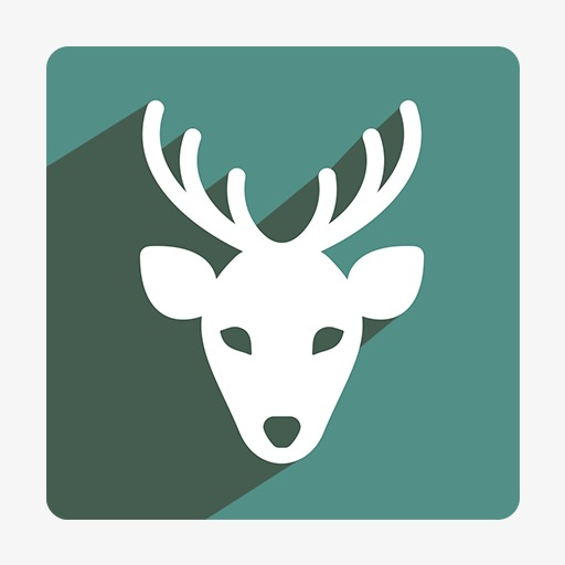 Deer Icon, Deer Clipart, Deer, Creative Deer Png Image And Clipart