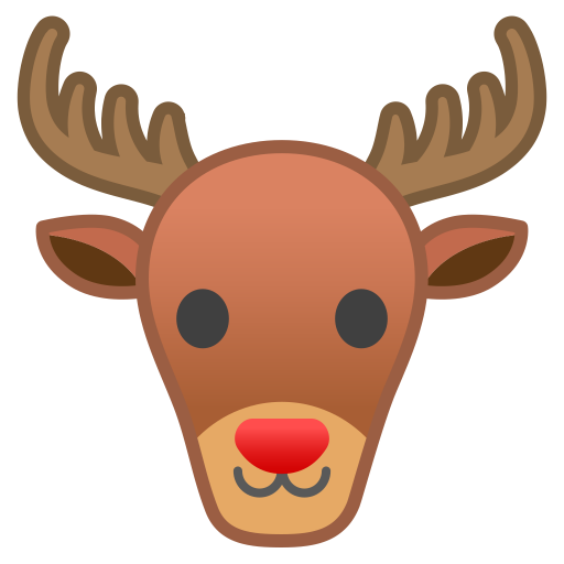 Deer Icon Noto Emoji Animals Nature Iconset Google