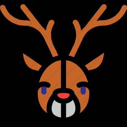 Download Deer,wildlife,animal,kingdom,mammal,zoo Icon Inventicons